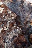 Corrosão da placa do ferro fotos de stock