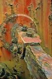 Corrosão & delaminação extremas do metal foto de stock royalty free