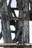 Corrosão do metal imagem de stock