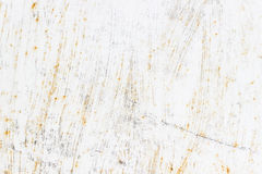 Corrosão em um fundo branco imagens de stock royalty free
