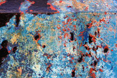 Corrosión Fotografía de archivo