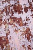 Corrosión de la textura del metal Fotos de archivo libres de regalías