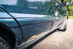 Corrosión del coche imágenes de archivo libres de regalías