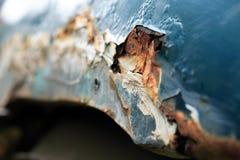 Corrosión metálica foto de archivo libre de regalías