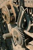 Corrosie van metaal stock foto