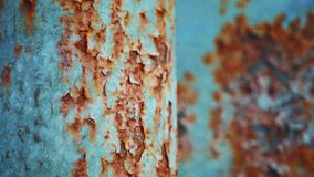 A corrosion background or texture. A corrosion background or texture stock footage