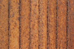 Corrosion corrugated metal sheet Stock Photography