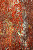 Corrosion painted metal background Stock Image