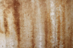 Corrosion stains on metal  background Royalty Free Stock Image