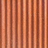 Corrosione del tetto del metallo dello zinco Immagini Stock