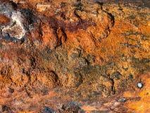 Corrosione di metallo fotografie stock libere da diritti