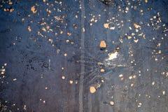 Corrosione sulla superficie di metallo Immagine Stock