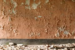 Corrosived wall Royalty Free Stock Photography