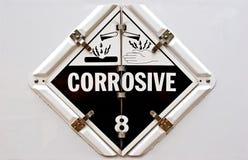 Corrosivo Fotografia Stock