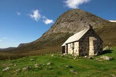 Corrour Bothy Stockfotos
