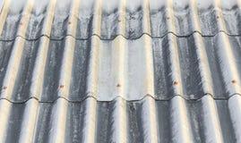 Corruagated dachowa płytka i półprzezroczysty wzór zdjęcia royalty free