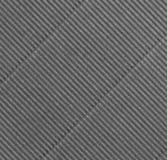 Corrugações diagonais cinzentas Imagem de Stock Royalty Free