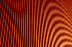 Corrugaciones anaranjados Imagenes de archivo