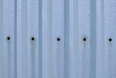 Corrugated aluminium Royalty Free Stock Images