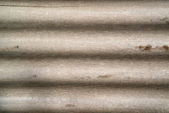 Corrugated Asbestos Cement Roof. Covering Material Stock Photos