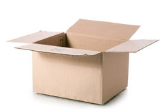 Corrugated Box Stock Photography