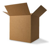 Corrugated Box with Path Royalty Free Stock Images