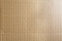 Corrugated box texture Royalty Free Stock Photography