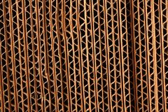Corrugated Boxes Royalty Free Stock Photo