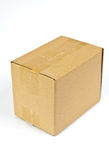 Corrugated boxes Stock Photography