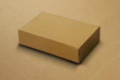 Corrugated Card Board Box / Carton for Mockup Royalty Free Stock Images