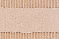 Corrugated cardboard. Brown corrugated cardboard paper background royalty free stock image