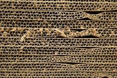 Corrugated cardboard Stock Images