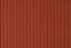 Corrugated cardboard. Close-up of red corrugated cardboard - texture series Stock Photo