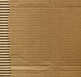 Corrugated cardboard Stock Images