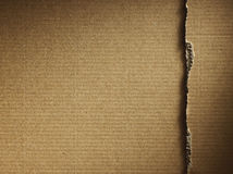 Corrugated cardboard Royalty Free Stock Images