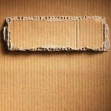Corrugated cardboard Stock Photography