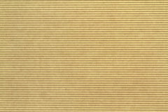 Corrugated cardboard as  background. Stock Images
