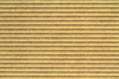 Corrugated cardboard as  background. Stock Image