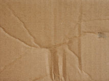 Corrugated cardboard background Royalty Free Stock Images