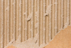 Corrugated cardboard background Royalty Free Stock Image