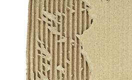 Corrugated cardboard background texture Royalty Free Stock Photography