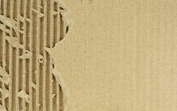 Corrugated cardboard background texture Stock Photo