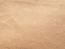 Corrugated cardboard blank sheet Stock Photography