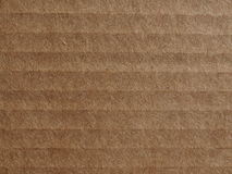 Corrugated cardboard blank sheet Royalty Free Stock Image