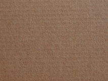 Corrugated cardboard blank sheet Royalty Free Stock Images