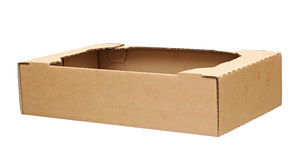 Corrugated Cardboard Box Stock Image
