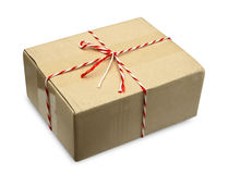 Corrugated cardboard box Stock Images