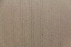 Corrugated cardboard. The brown Cardboard texture Background Stock Images