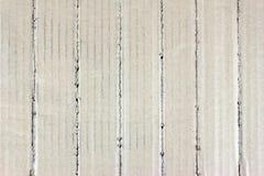 Corrugated cardboard of furrow Stock Photo