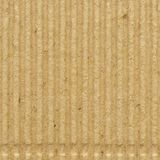 Corrugated cardboard goffer paper texture, bright rough old recycled goffered crimped textured blank empty copy space background. Corrugated cardboard goffer royalty free stock photos